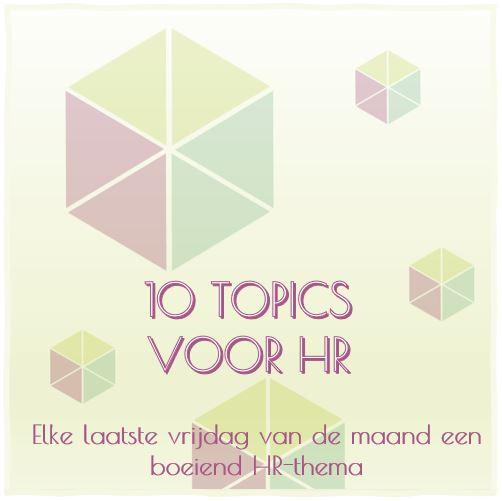 10 topics voor HR